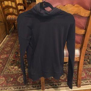 Lululemon black scuba neck sweatshirt